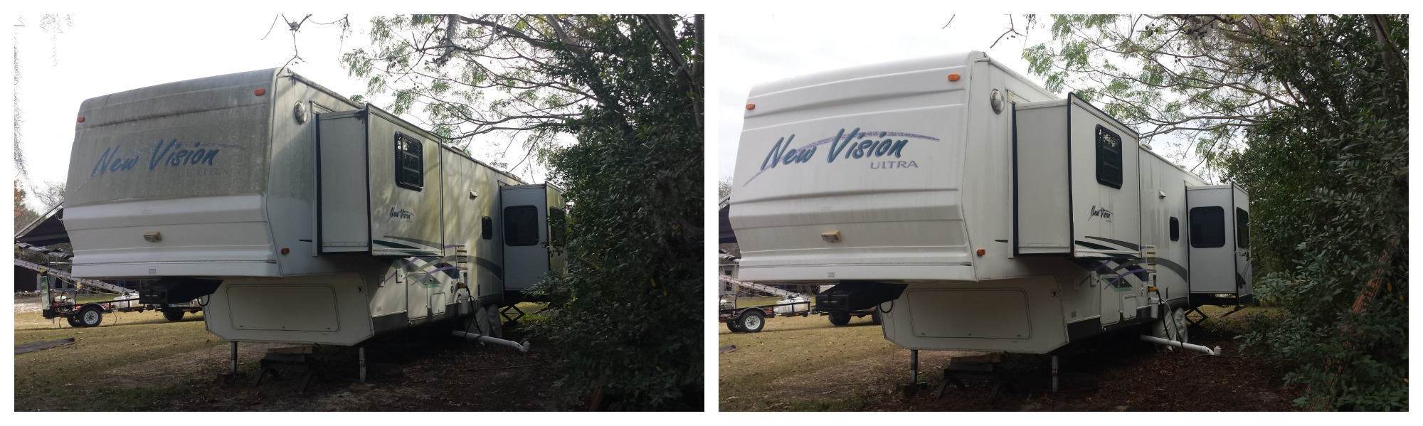 RV  washing