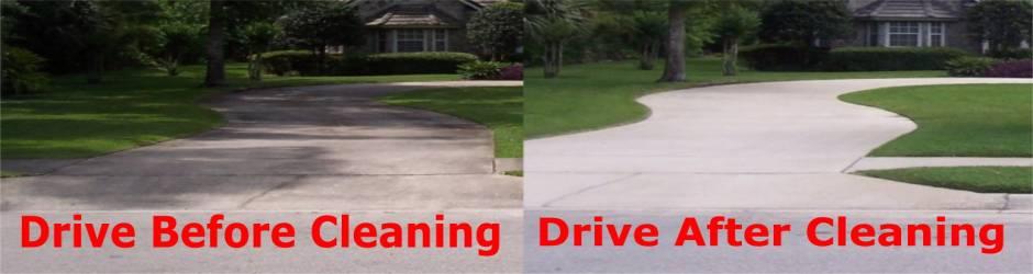 House Washers Pressure Washing Concrete Driveways